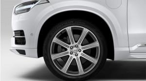 Volvo XC 90 2015-2016 - Комплект расширителей колесных арок, под покраску (Volvo) фото, цена