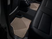 BMW X4 2014-2019 - Коврики резиновые, задние, бежевые. (WeatherTech) фото, цена