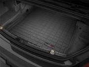 BMW 6 2012-2016 - Коврик резиновый в багажник, черный, Cabrio. (WeatherTech) фото, цена