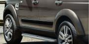 Land Rover Discovery 2005-2016 - Молдинги дверей черные (LR) фото, цена