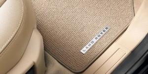 Land Rover Range Rover 2013-2016 - Коврики ворсовые бежевые (LR) фото, цена
