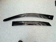 Lexus RX 2003-2009 - Дефлекторы окон (ветровики), к-т 4 шт, широкие, темные. Cobra Tuning. фото, цена