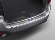 Subaru Outback 2015-2016 - Накладка на задний бампер, метал (Subaru) фото, цена