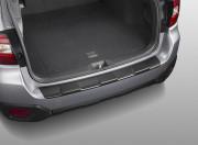 Subaru Outback 2015-2016 - Накладка на задний бампер, черная, пластик (Subaru) фото, цена