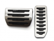 Land Rover Evoque 2011-2016 - Накладки на педали, алюминий, резина  фото, цена