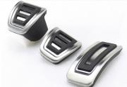Volkswagen Golf 2012-2016 - Накладки на педали, алюминий, резина  фото, цена
