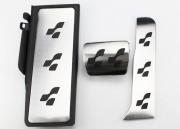 Volkswagen Passat 2005-2010 - Накладки на педали, алюминий, резина  фото, цена