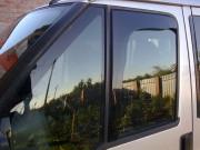Opel Movano 2010-2016 - Дефлекторы окон (ветровики) передние Углом (AV-TUN) фото, цена