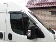 Peugeot Boxer 2006-2016 - Дефлекторы окон (ветровики) передние (AV-TUN) фото, цена
