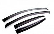 BMW 3 2012-2016 - Дефлекторы окон (ветровики), к-т 4 шт, темные. Cobra Tuning. фото, цена