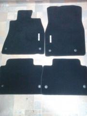Lexus LS 2009-2011 - Коврики тканевые, к-т 4 шт, черные (Lexus) фото, цена