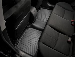 Mazda 6 2008-2012 - Коврики резиновые с бортиком, задние, 2 ряд, черные (WeatherTech) фото, цена