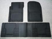 Коврики резиновые универсальные, черные к-т 3 шт. (WeatherTech) фото, цена
