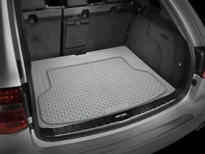 Универсальные товары 1986-2019 - Коврик резиновый в багажник, серый. (WeatherTech) фото, цена