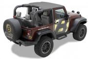 Jeep Wrangler 2007-2016 - Мягкая сьемная крыша (Bestop) фото, цена
