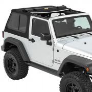 Jeep Wrangler 2007-2016 - Мягкая сьемная крыша Twill Soft Top (Bestop) фото, цена