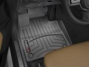 Volvo XC 90 2016-2019 - Коврики резиновые с бортиком, передние, черные (WeatherTech) фото, цена