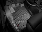Alfa Romeo MiTo 2008-2015 - Коврики резиновые с бортиком, передние, черные (WeatherTech) фото, цена
