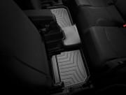 Alfa Romeo MiTo 2008-2015 - Коврики резиновые с бортиком, задние, черные. (WeatherTech) фото, цена