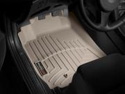 Alfa Romeo 159 2005-2011 - Коврики резиновые с бортиком, передние, бежевые (WeatherTech) фото, цена