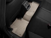Alfa Romeo 159 2005-2011 - Коврики резиновые с бортиком, задние, бежевые (WeatherTech) фото, цена