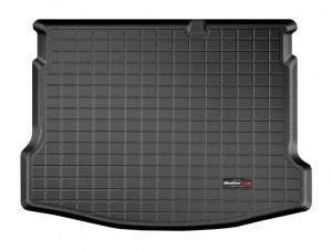 Nissan Qashqai 2007-2013 - Коврик резиновый в багажник, черный. (WeatherTech) фото, цена