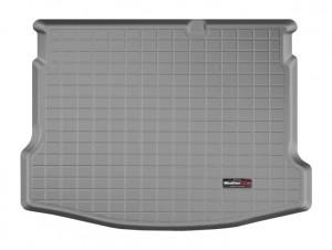 Nissan Qashqai 2007-2012 - Коврик резиновый в багажник, серый. (WeatherTech) фото, цена