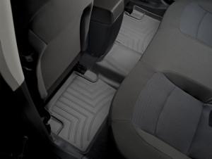 Nissan Qashqai 2007-2013 - Коврики резиновые с бортиком, задние, черные (WeatherTech) фото, цена
