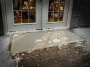 Внешний резиновый напольный коврик, бежевый. (WeatherTech) фото, цена