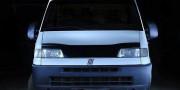 Peugeot Boxer 2002-2006 - Дефлектор капота (мухобойка), темный. (Vip) фото, цена