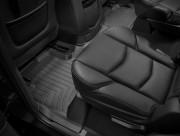 Cadillac Escalade 2015-2019 - Коврики резиновые с бортиком, задние, черные. (WeatherTech) фото, цена