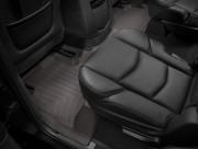 Cadillac Escalade 2015-2019 - Коврики резиновые с бортиком, задние, какао. (WeatherTech) фото, цена