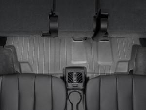 BMW X5 2014-2019 - Коврики резиновые с бортиком, задние, 3 ряд, черные. (WeatherTech) фото, цена