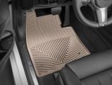 Резиновые бежевые коврики для БМВ