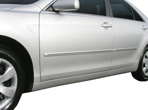 Toyota Camry 2006-2011 - Молдинги с хроммированной полосой к-т 4 шт. (USA) фото, цена