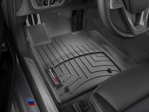 BMW 7 2015-2019 - Коврики резиновые, передние, черные. (WeatherTech) фото, цена