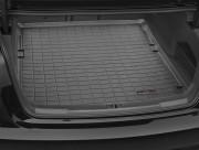 Audi A6 2012-2019 - (Sedan) Коврик резиновый в багажник, черный. (WeatherTech) фото, цена