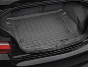 BMW 2 2013-2017 - Коврик резиновый в багажник, черный. (WeatherTech) фото, цена