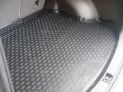 Toyota Land Cruiser Prado 2009-2017 - Коврик резиновый с бортиком в багажник, черный, 5 мест (WeatherTech) фото, цена