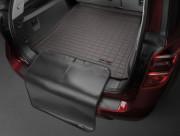 Toyota Land Cruiser 2007-2017 - Коврик резиновый с бортиком в багажник, какао, 7 мест (WeatherTech) фото, цена