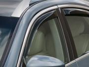 Infiniti EX 2007-2012 - Дефлекторы окон (ветровики), передние, темные, вставные. (WeatherTech) фото, цена