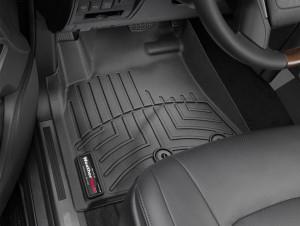 Lexus LX 2012-2019 - Коврики резиновые с бортиком, передние, черные. (WeatherTech) фото, цена