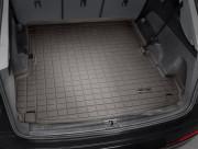 Audi Q7 2016-2019 - Коврик резиновый в багажник, какао. (WeatherTech) фото, цена