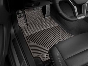 Mercedes-Benz E 2017 - Коврики резиновые, передние, какао (WeatherTech) Coupe фото, цена