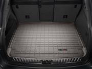 Porsche Cayenne 2011-2018 - Коврик резиновый в багажник(Без сабвуфера), какао (WeatherTech) фото, цена
