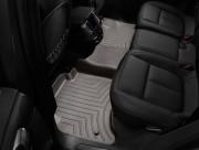 Volkswagen Touareg 2011-2018 - Коврики резиновые с бортиком, задние, какао (WeatherTech) фото, цена