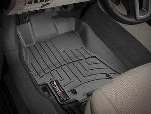 Subaru Outback 2015-2019 - Коврики резиновые с бортиком, передние, черные. (WeatherTech) фото, цена