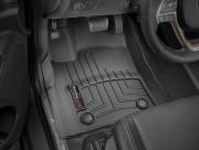 Jeep Grand Cherokee 2016-2019 - Коврики резиновые с бортиком, передние, черные (WeatherTech) фото, цена