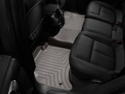 Volkswagen Touareg 2010-2018 - Коврики резиновые бортиком задние, какао (Weathertech) 4 зон фото, цена
