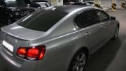 Lexus GS 2006-2012 - Дефлекторы окон, к-т, 4 шт,  черные (Fanauto) фото, цена